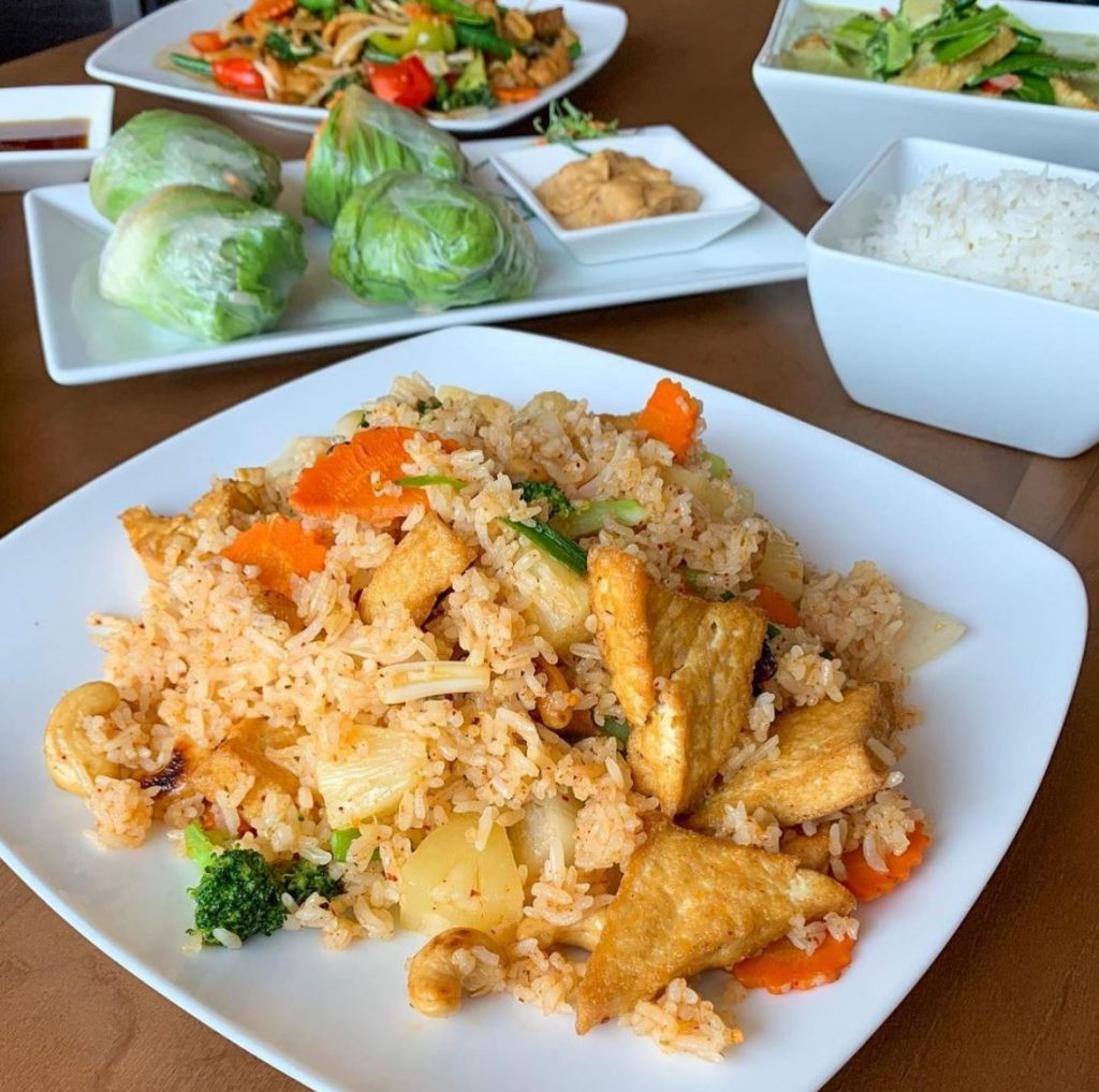 Top Places to Eat Near Our Evergreen Colorado Cabins - Beau Thai Fried Rice