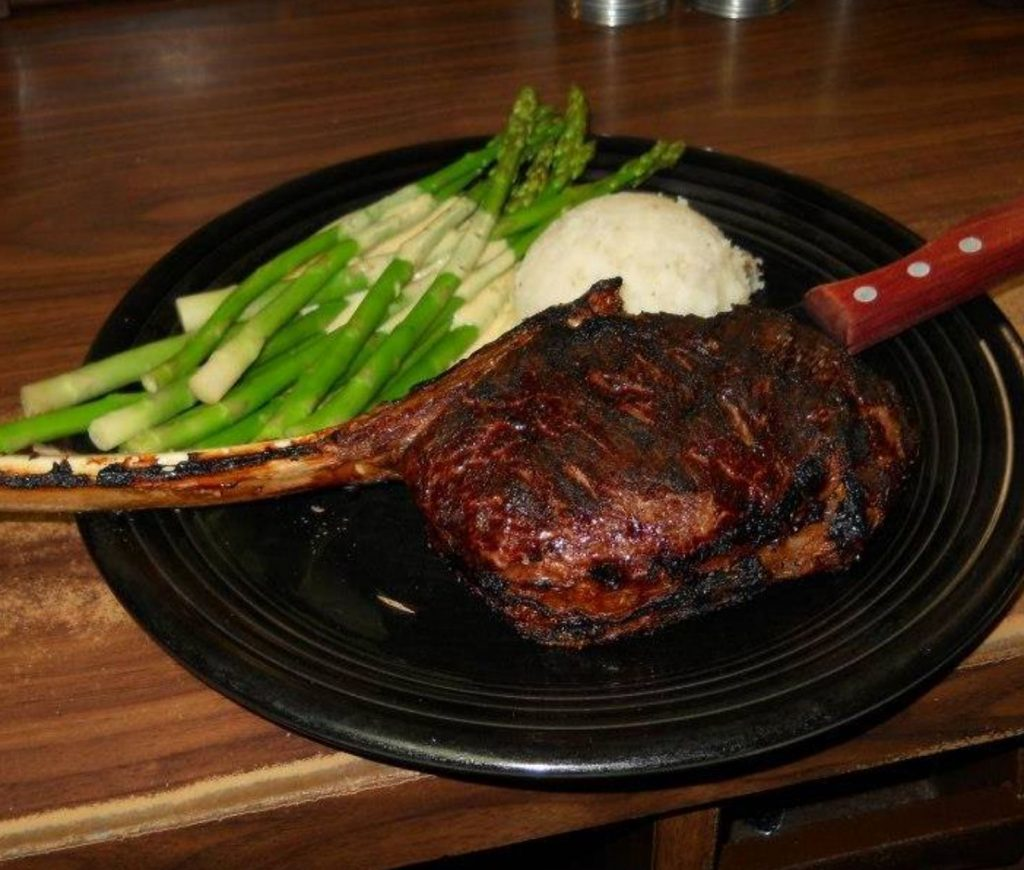 Top Places to Eat Near Our Evergreen Colorado Cabins - Black Hat Cattle Company Rib Eye