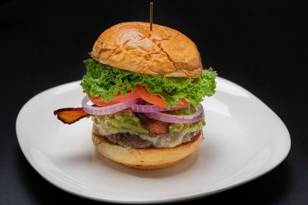 Top Places to Eat Near Our Evergreen Colorado Cabins - Lariat Lodge Brewing Company Burger