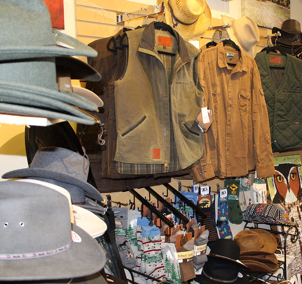 Evergreen Crafters clothing