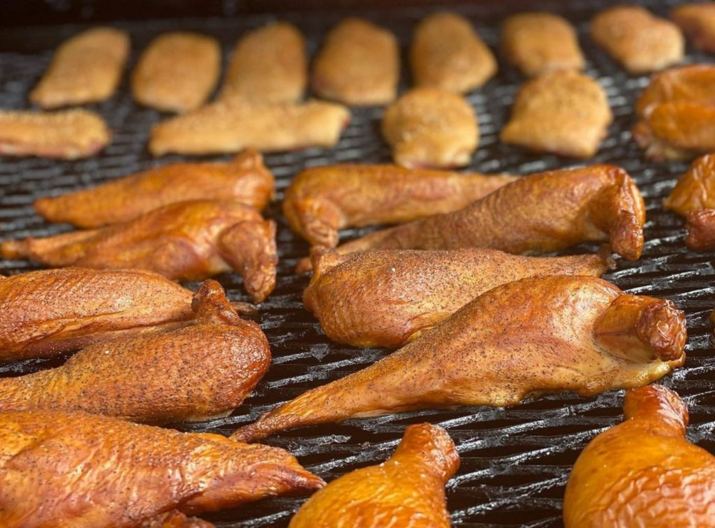 Top Places to Eat Near Our Evergreen Colorado Cabins - Switchback Smokehouse Smoked Chicken